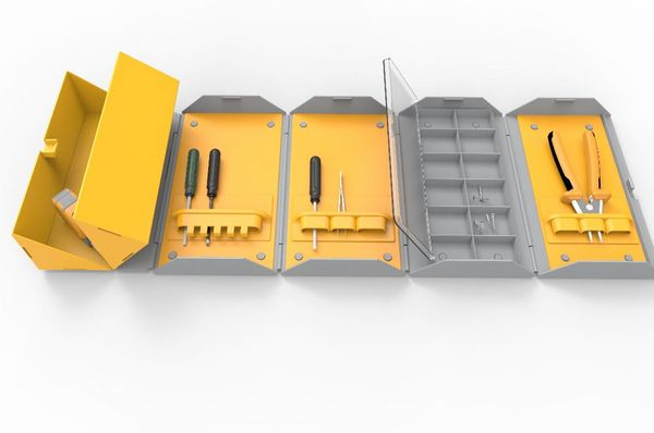 Toolbox concept design by Narine Darbinian