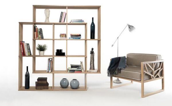 X2 bookshelf by Laurindo Marta