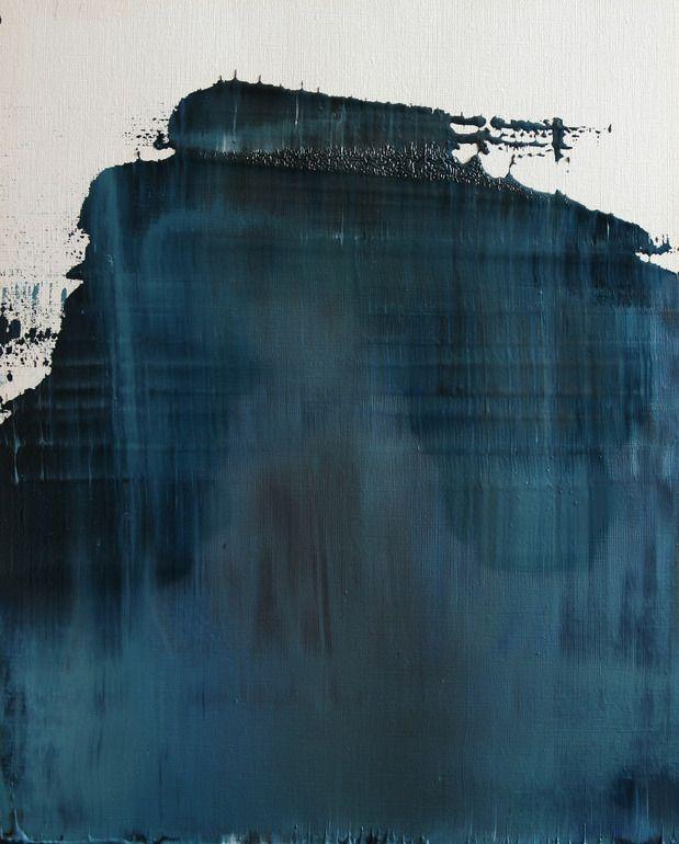 """Koen Lybaert; Oil 2013 Painting """"abstract N° 702"""""""