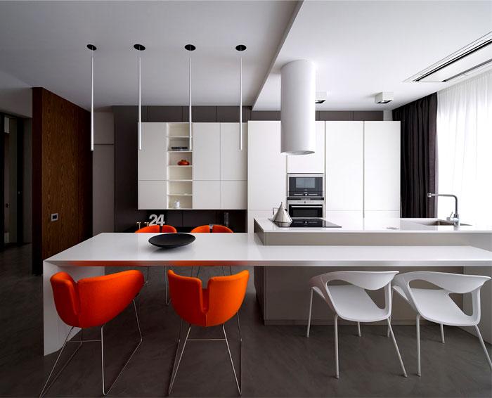Apartment in Trendy Dark Colors  – #decor, #interior, #homedecor,