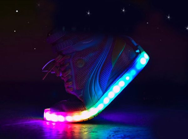 Blinky.Shoes smart LED strips by Ultimate Celebration