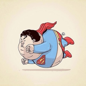 Bigfatball  – Superman