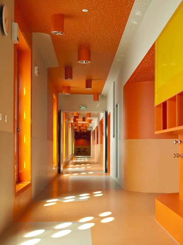 Claude Bernard Primary School Architecture