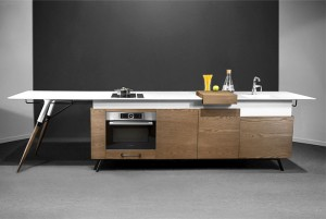 Compact Kitchen Design by Irena Kilibarda –  #design,  #furniture,  #modernfurniture,