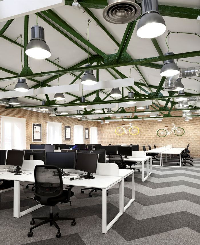 SiteGround Office Space in Madrid – #office, #interior, #decor