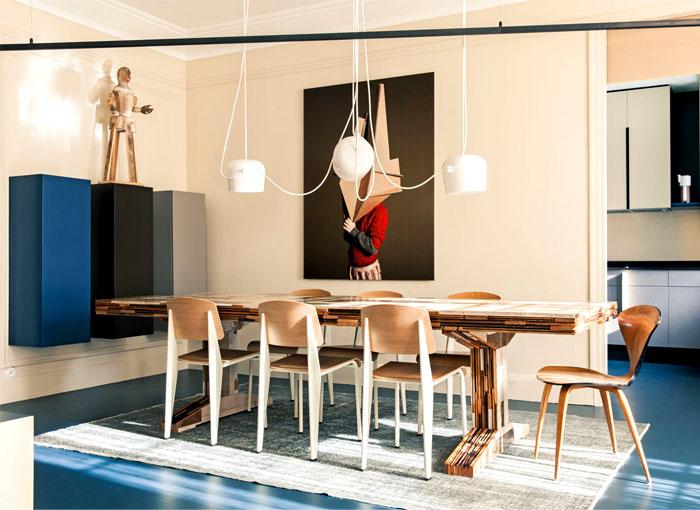 Family Apartment in Paris by UdA – #decor, #interior, #homedecor,  #architecture, #home,