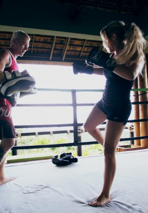 kick boxin