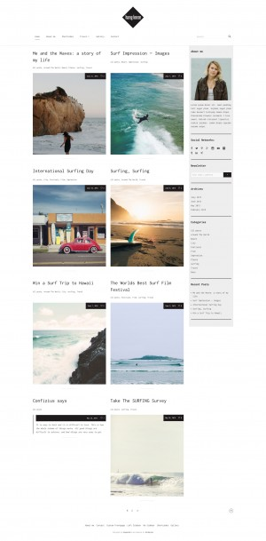 "Our WordPress Theme ""Hang Loose"" offers a clear and modern design. Besides everything you need f ..."