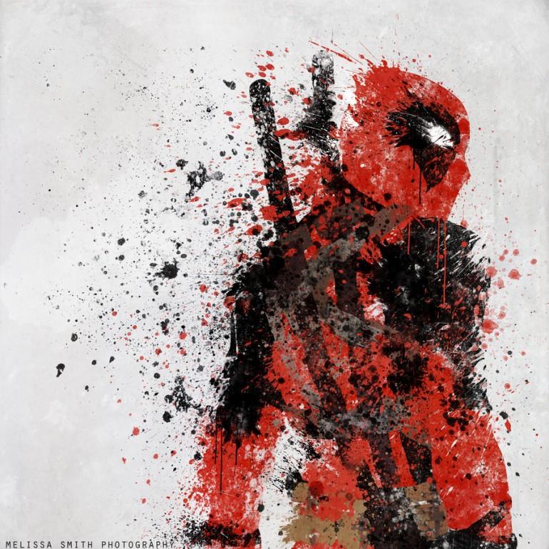Incredible Superhero Prints By Melissa Smith (Deadpool)