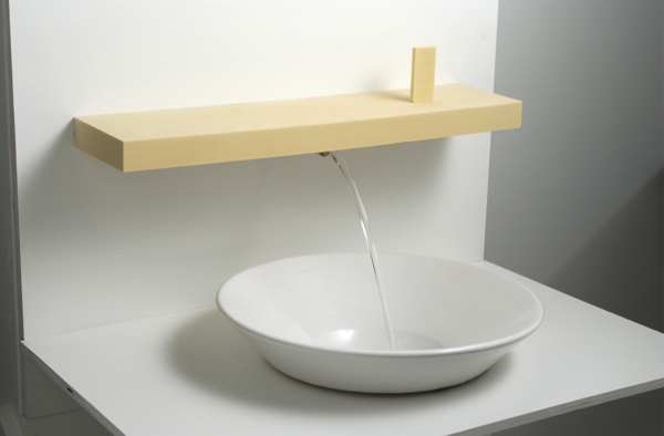 Laminar bath faucet by James Piatt