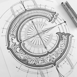 Letter C by Mateusz Witczak Designs