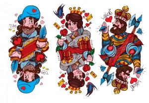 Original deck of playing cards