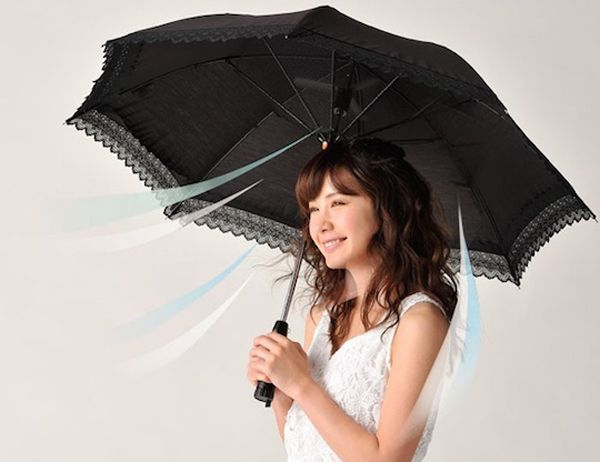 Rurudo Fan Shade umbrella design by Japan