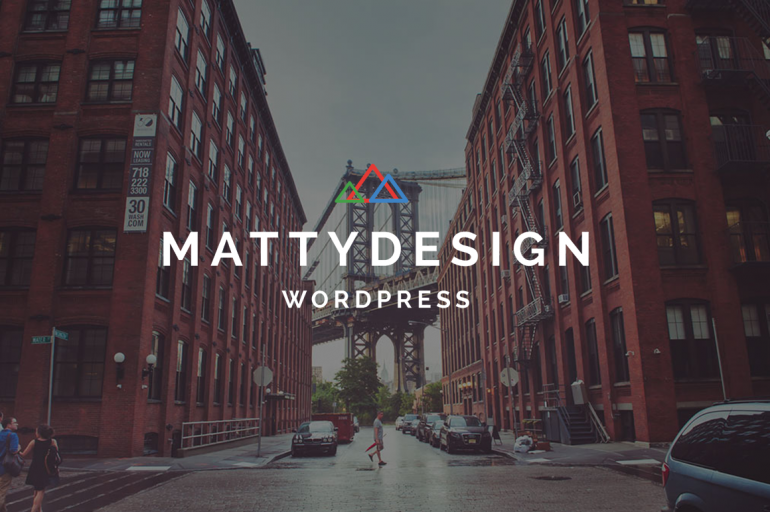 Matty – Powerful and Flexible Theme