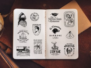 32 Vintage Logo Templates + Extras