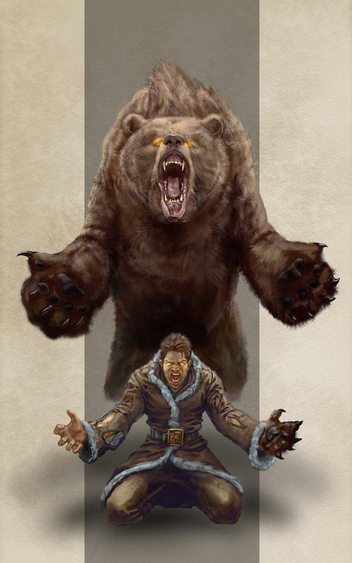 Werebear by razwit