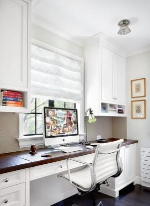 Winnetka Residence Home office