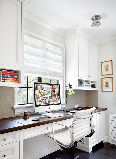 Winnetka Residence Home office
