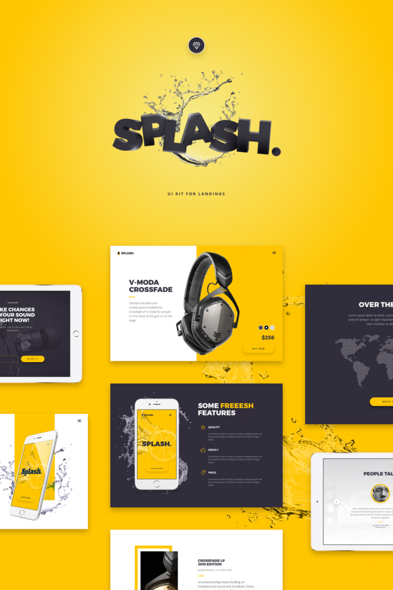 Splash UI Kit