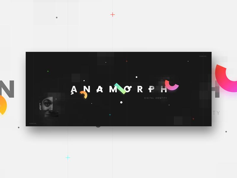 Anamorph Identity by Romain Passelande
