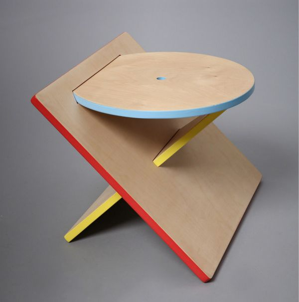 Bauhaus Stool by Catherine Lee