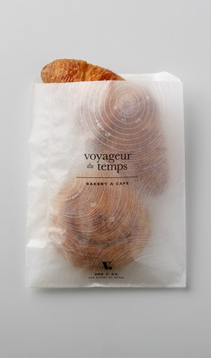 Voyageur Du Temps Branding by Character