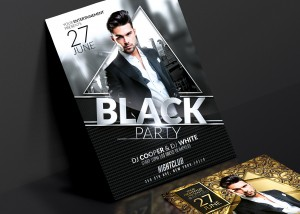 Prestige Pack | Psd Flyer Templates. Creative Design perfect to promote your Prestige Party ! 3  ...