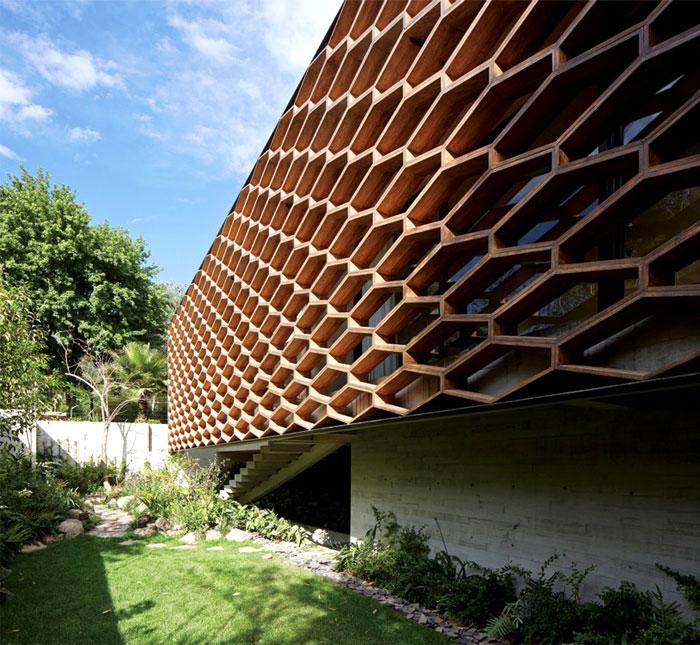 Concrete Home in Mexico