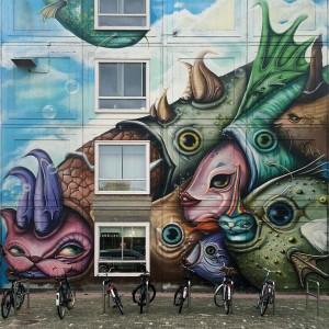 Fish & Bikes –  Street Art