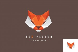 Geometric animal logo marks