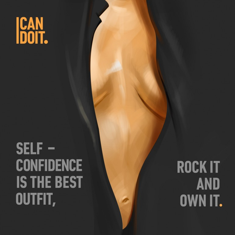 I Can Do It, Guys blog. Inspirational Illustrations.