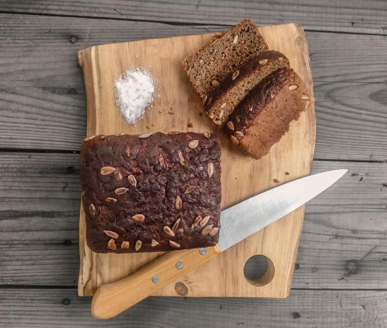 The Original Kitchen Cutting Board. Hand-made of Acacia wood.