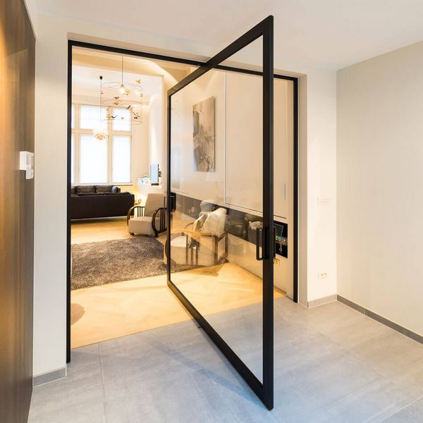 Innovative pivoting door by Anyway Doors