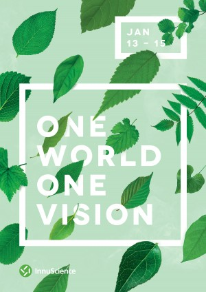 One World. One Vision Poster by Ashwin Kandan