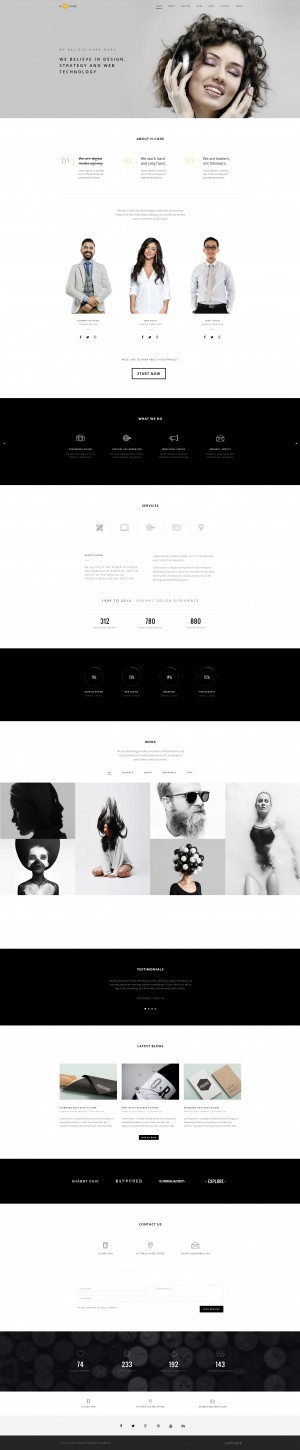 H-Code | Responsive & Multipurpose WordPress Theme