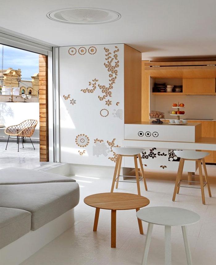 Penthouse Apartment in Valencia by Josep Rua – InteriorZine