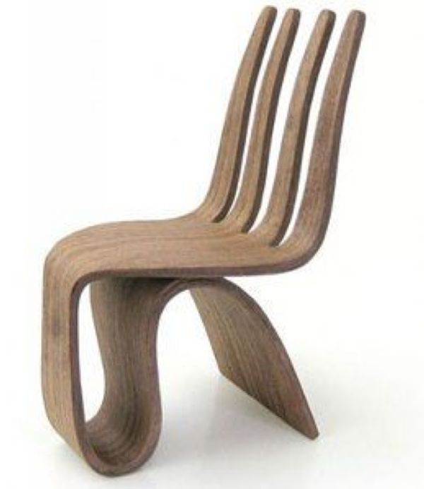 Seniora Fork Chair by Ignacio Ruiz Gutierrez H