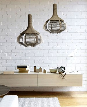 Pendant Lights – Sun Rise and Solid ties