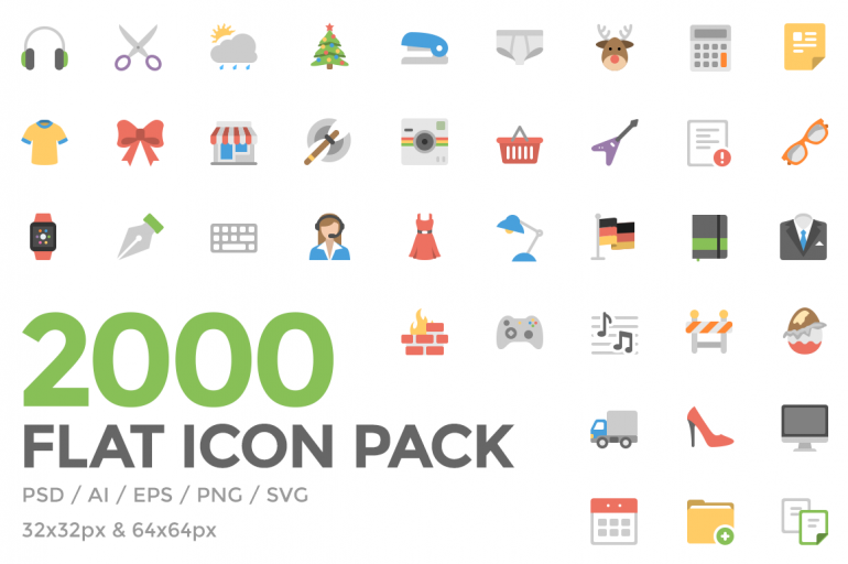Flat Icon Pack