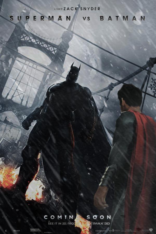Superman vs Batman promo poster by DComp