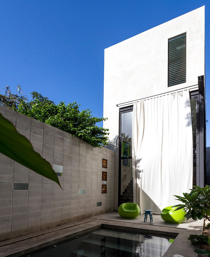 Modern Mexican House Located in Yucatan –  #architecture, #home,  #decor, #interior, #home ...