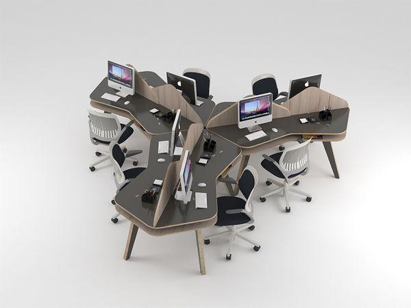 Tessella Desk by Nos