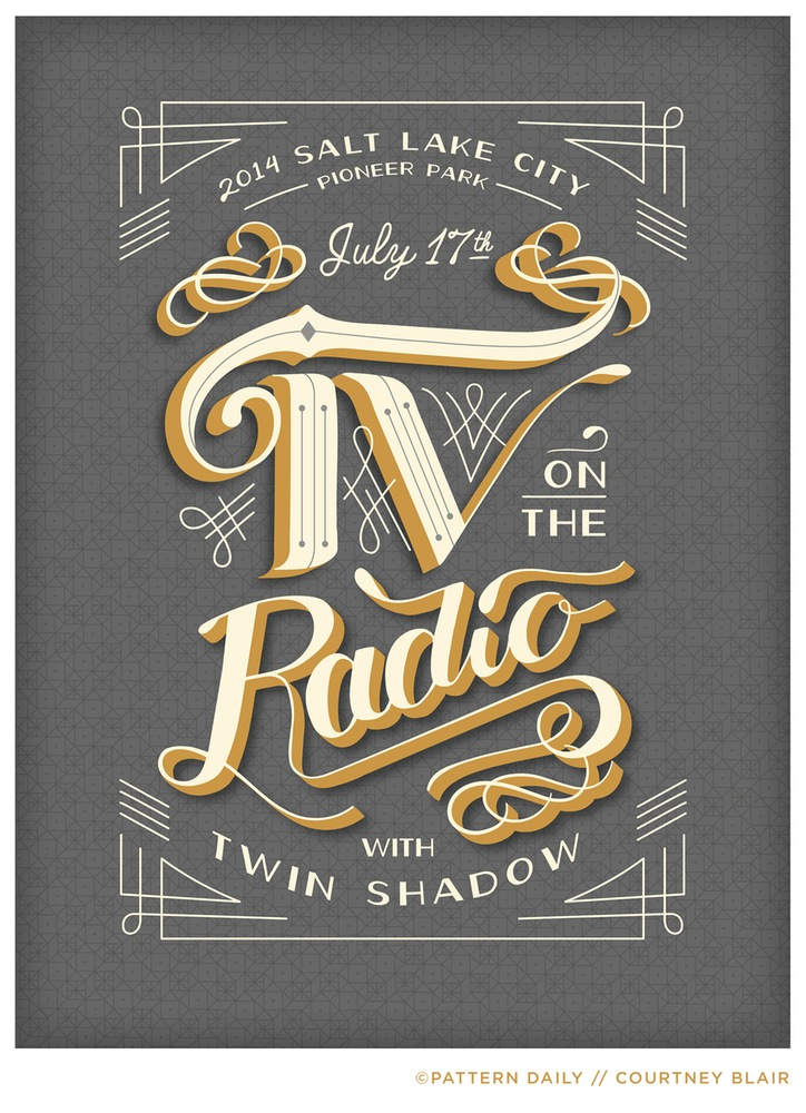 TV on the Radio // Gig Poster
