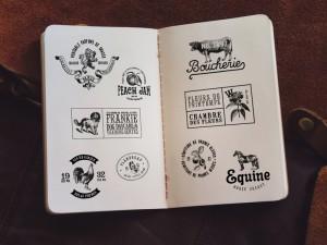 32 Vintage Logo Templates