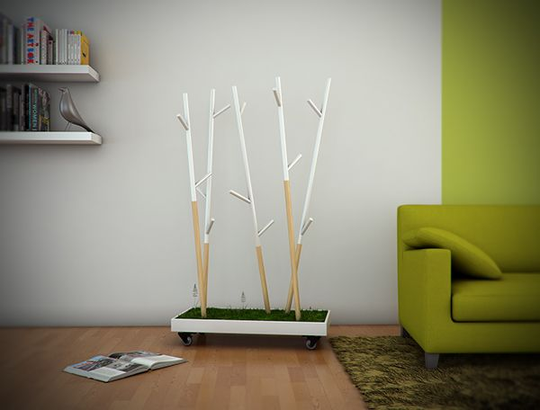 Wild Forest coat hanger by Bruno Santos