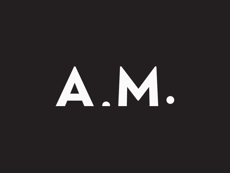 A.M. Studio Logo by Mahmoud Bachir