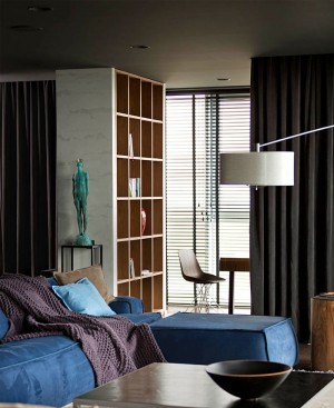 Apartment in Dark Colors by InCube –  #decor, #interior, #homedecor,