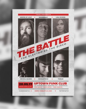 Music Battle Flyer