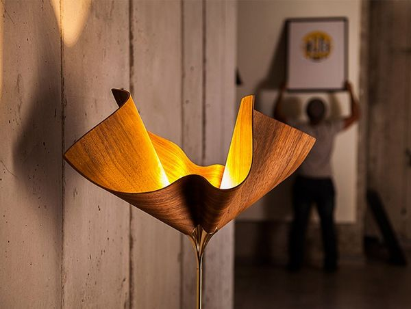 Bloom floor light by Cozi Studio