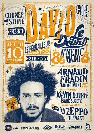 Concert David le Deunff (Hocus Pocus)